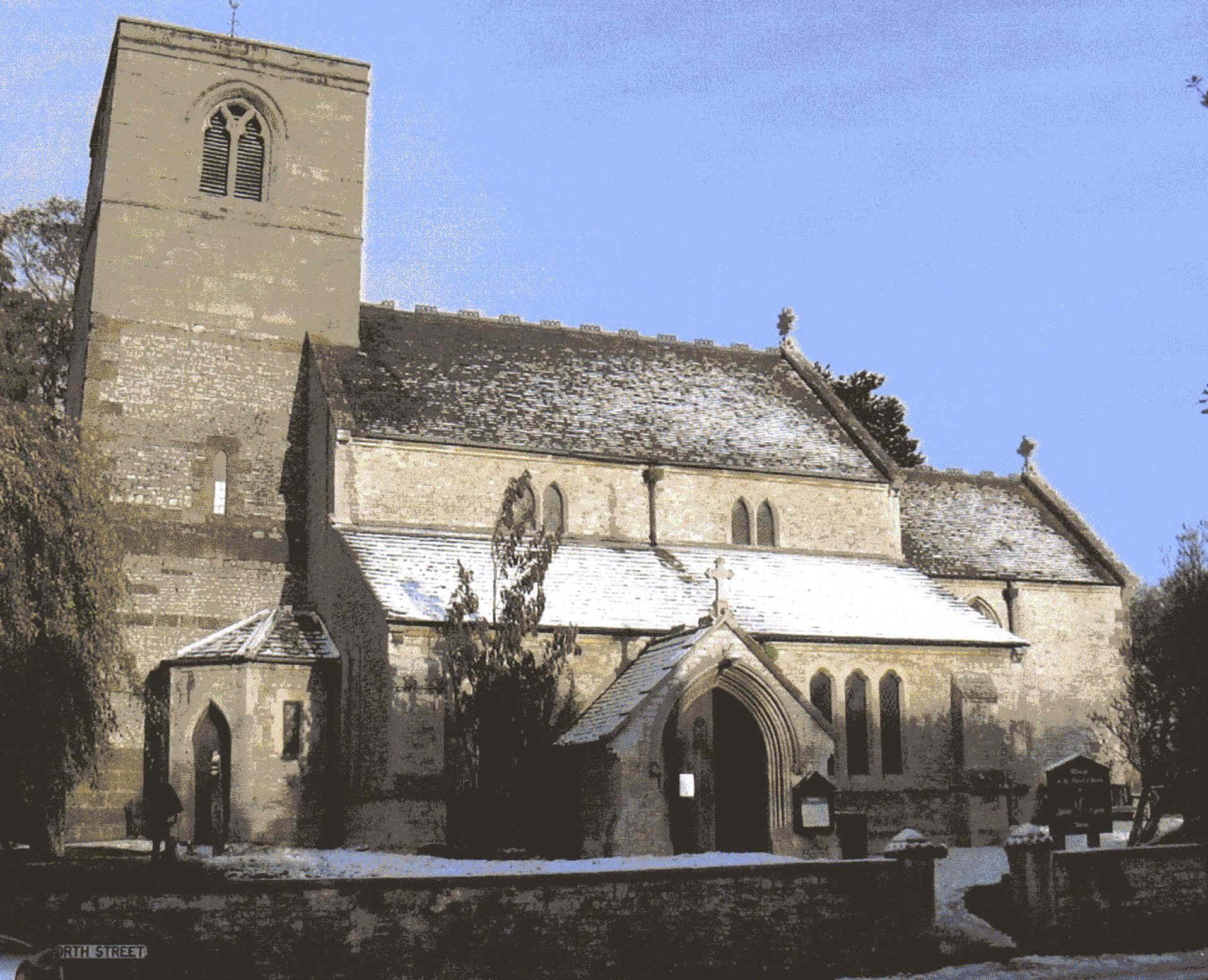 History of St Esprit Church – Marton Village