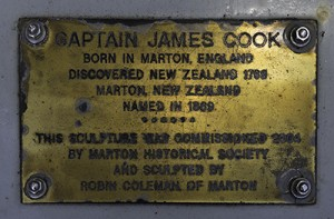 Captain Cook statue, Marton
