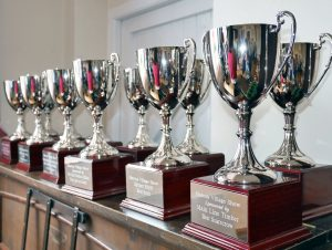 Marton Village Show trophies